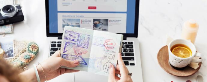 Vīzu noformēšana